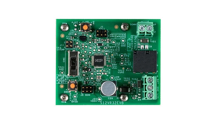 S12VR32EVB: S12VR32 Evaluation Board
