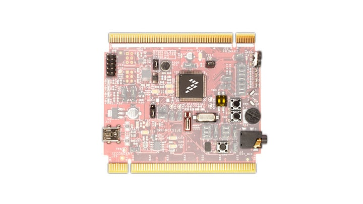 TWR-MCF51JE Evaluation Board