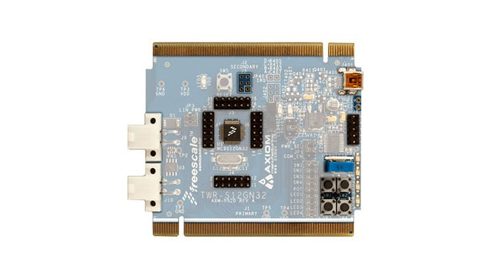 TWR-S12GN32 : MC9S12GN32 Ultra Reliable 16-bit Tower<sup>®</sup> System Module thumbnail
