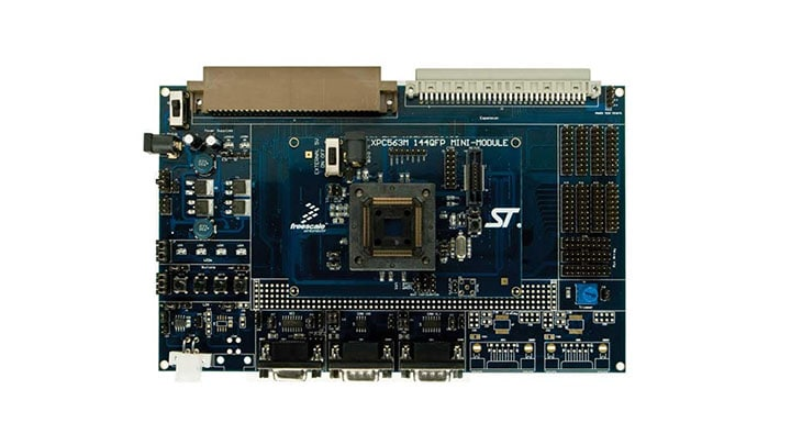 Evaluation system supporting NXP MPC560xP Image