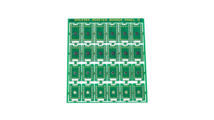 Surface Mount to DIP Evaluation Board OM13494