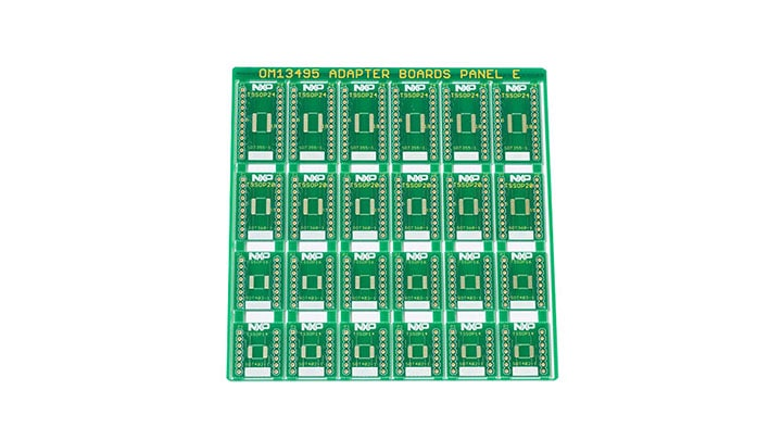 Surface Mount to DIP Evaluation Board OM13495