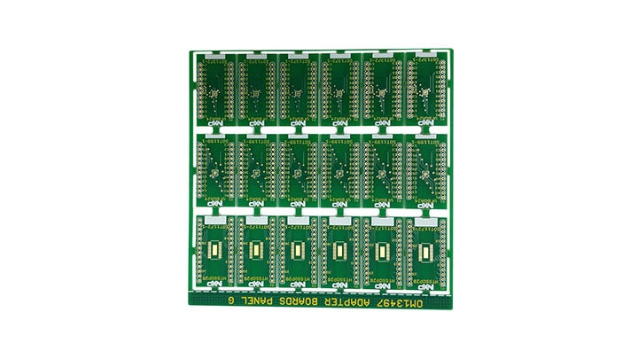 Surface Mount to DIP Evaluation Board OM13497