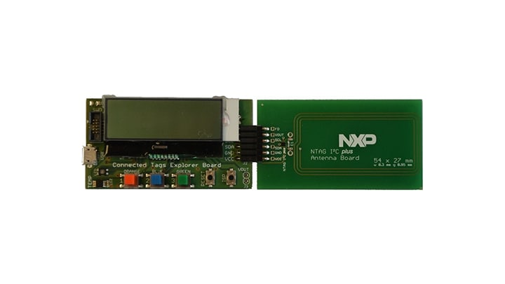NFC Explorer Board with PCB antenna board