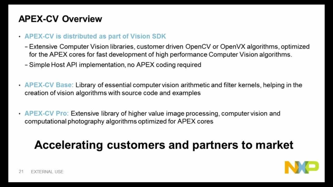 On-demand Training: Vision Applications with NXP S32V234 Processor  thumbnail